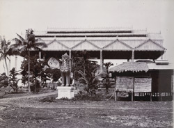 View of the Shwethalyaung image, [Pegu].